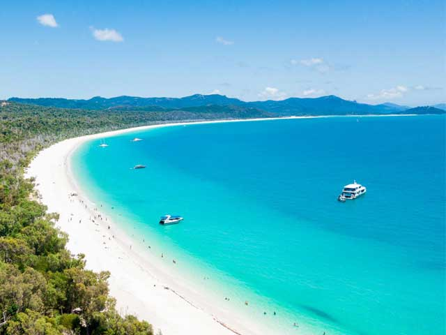 Whitehaven Beach South End Looking North